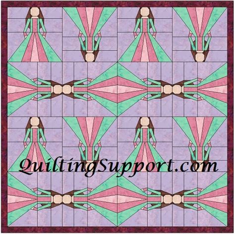 china doll quilt 10 inch foundation patterns