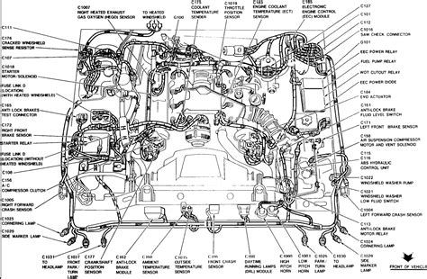 1998 lincoln town car engine diagram 2011 ford crown car stereo wiring diagram 2011
