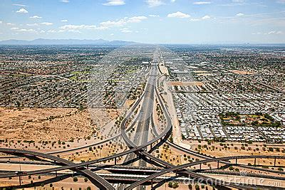 superstition freeway stock photo image: 42507197