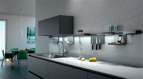 küchengestaltung wand miro tr 228 gerprofil schiene f 252 r die wand mit led 70 cm