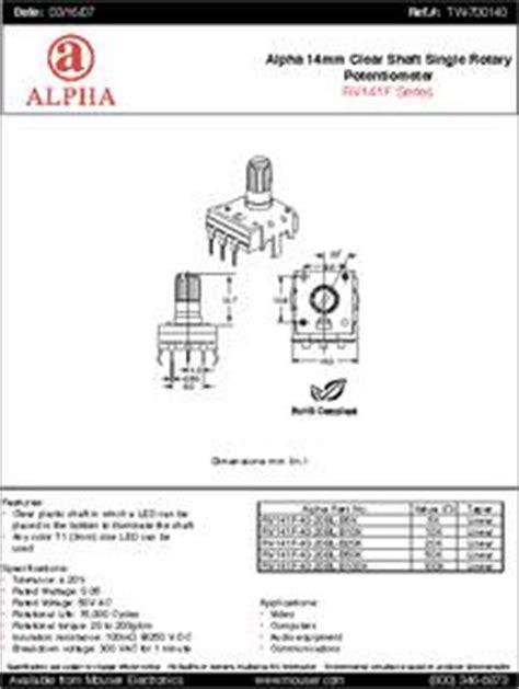 rvf  bl bk datasheet specifications