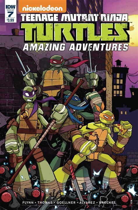 Amazing Adventures dec150426 tmnt amazing adventures 7 previews world