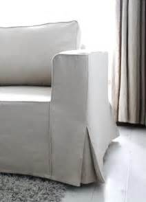 Slipcovers For Chaise Lounge Loose Fit Linen Manstad Sofa Slipcovers Now Available