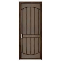 security doors home depot unique home designs arcada 36 in x 96 in steel copper