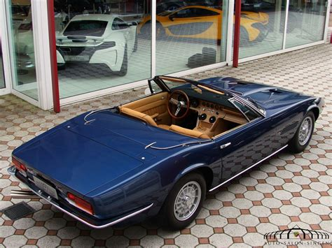 Maserati Ghibli Spyder by Maserati Ghibli Spyder 4 7 Cabrio Auto Salon Singen