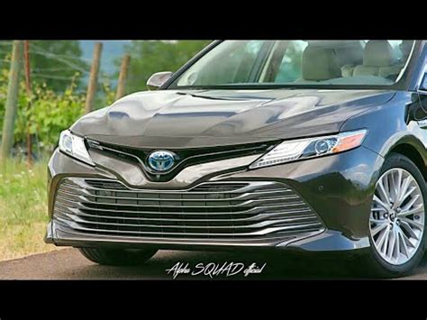 2018 toyota camry hybrid xle and xse v6 / all new toyota