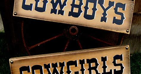 western home decor rustic old west style signs cowboys cowgirls pair rustic western signs home decor