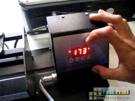 Mesin Mug tutorial penggunaan mesin press mug