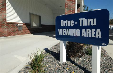 michigan funeral home offers drive thru option