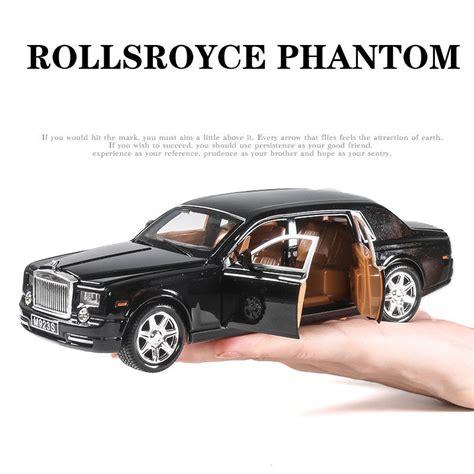 rolls royce model car 1 24 rolls royce phantom alloy diecast model car toys