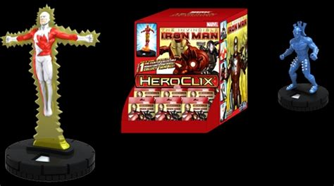 Kartu Heroes Special Foil Avatar Bandai Origina heroclix world invincible iron heroclix spoilers