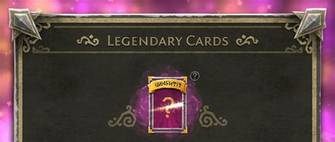 Legendary Card Template by Legendary Cards Update 187 Thing Trunk Gamedev Studio
