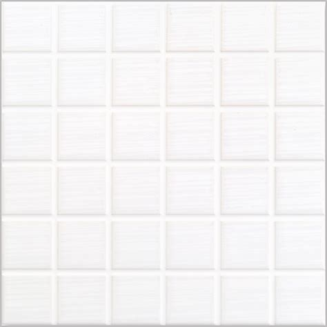 johnson urb1a urban style white mosaic effect gloss ceramic wall tile 200x200x6 5mm