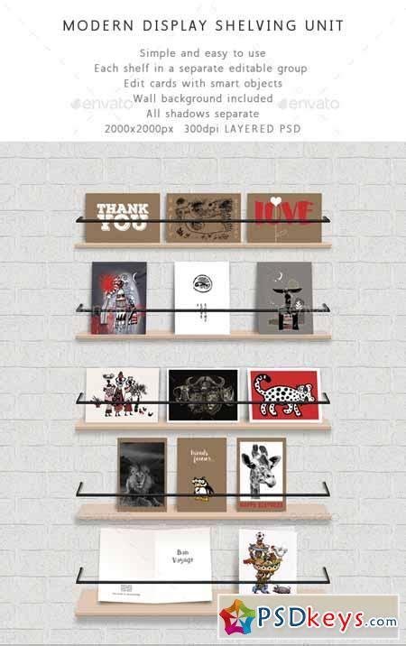 ebook shelf cards template shelf unit modern display shelving for cards 10475145