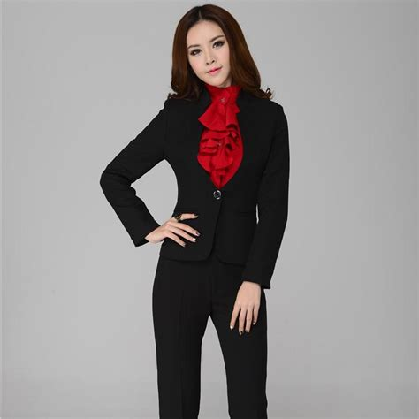 female work suits 2014 new 2015 spring and autumn formal pants suits for women