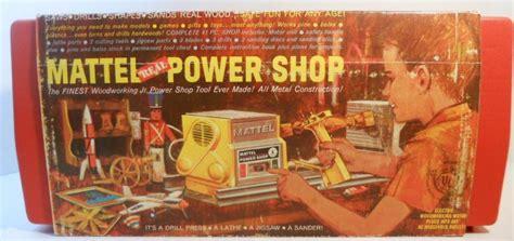 mattel real power shop woodworking jr tools kit