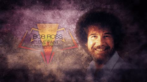 bob ross painting in photoshop bob ross wallpapers wallpaper cave