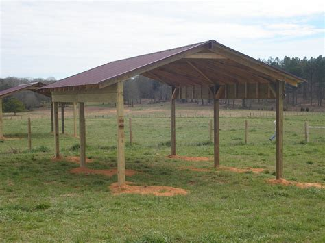 Diy Pole Shed by Simple Pole Barn Shed