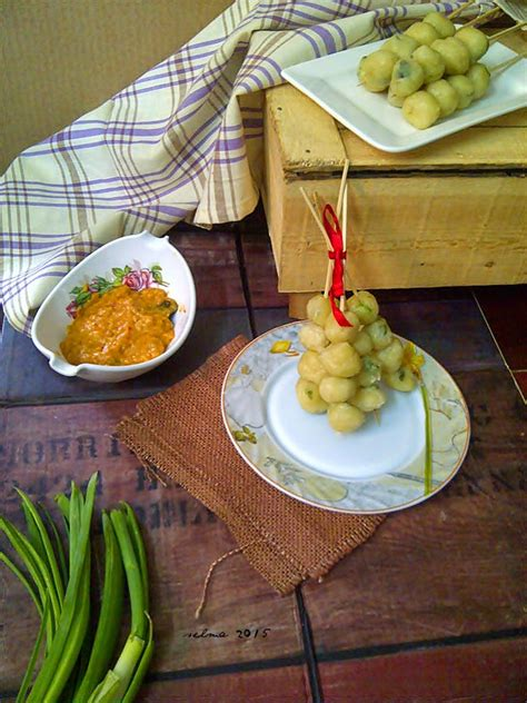cilok kuah saus padang dapur comel selma