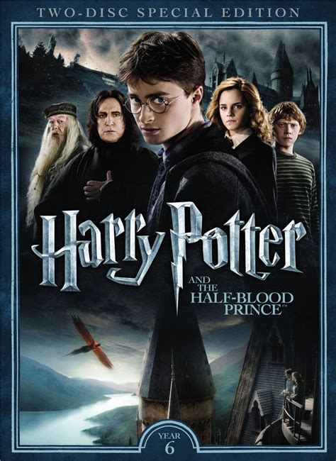 Half The Blood Of harry potter and the half blood prince dvd release date