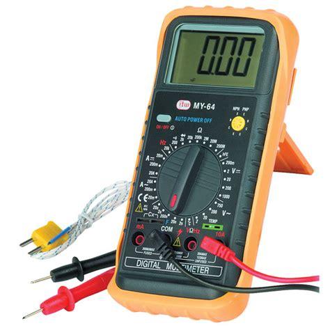 Multimeter Manual atp dm 64 manual ranging digital multimeter rapid