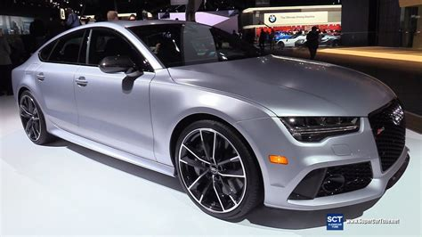 Audi Rs7 Interior by 2017 Audi Rs7 Sportback Exterior And Interior Walkaround