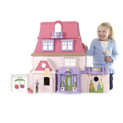 the doll family house fisher price loving family dollhouse walmart com