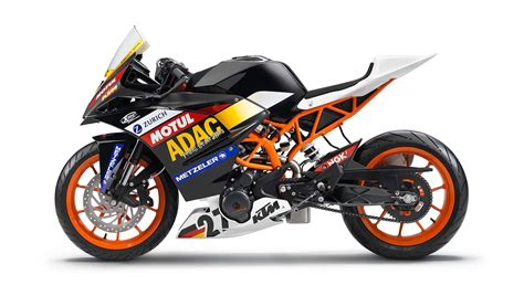 Ktm Rc Ktm Rc 390 Makes Its Debut At Adac Junior Cup Gaadi