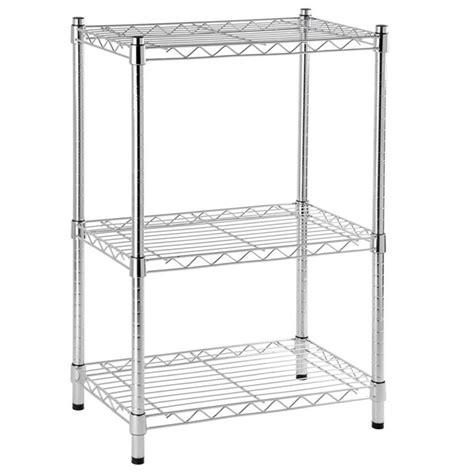 estante de metal estante multiuso metal cinza 90x60x35cm spaceo leroy merlin