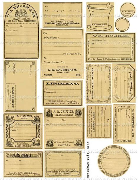 free printable journal labels blank vintage labels bing images art and design
