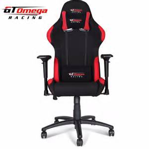 office racing chair gt omega pro racing gaming office chair black with