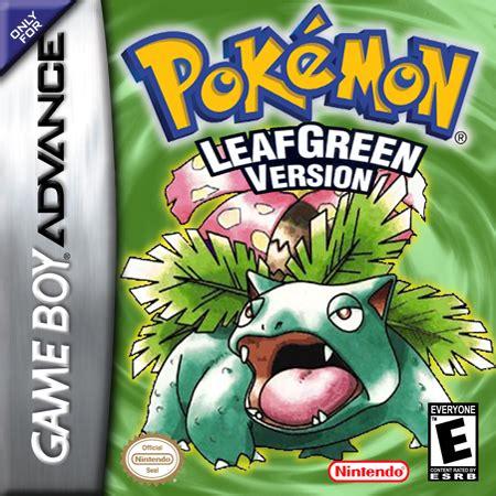 Gba Leaf Green play leaf green version nintendo boy