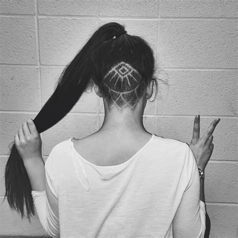 undercut hair tattoo hair inspiration the secret undercut strikeapose