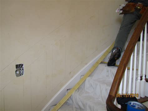 Proper Chair Rail Height by Installing Molding To A Curved Wall