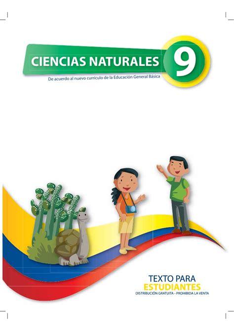 libro de decimo de ciencias naturas naturales 9 1 1