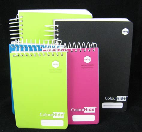 Small Note Book marbig colourhide a4 notebooks