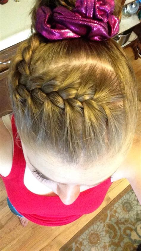 easy updos for gymnastics 25 best ideas about gymnastics hair on pinterest