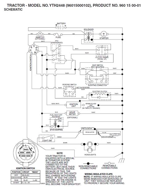 husqvarna lawn mower wiring diagram wiring diagram with