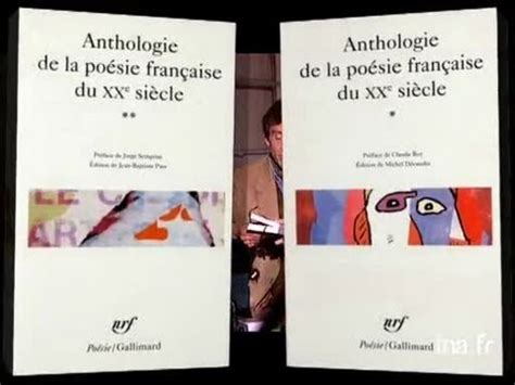 anthologie de la poesie 2070324621 claude roy et jorge semprun anthologie de la po 233 sie fran 231 aise au vingti 232 me si 232 cle youtube