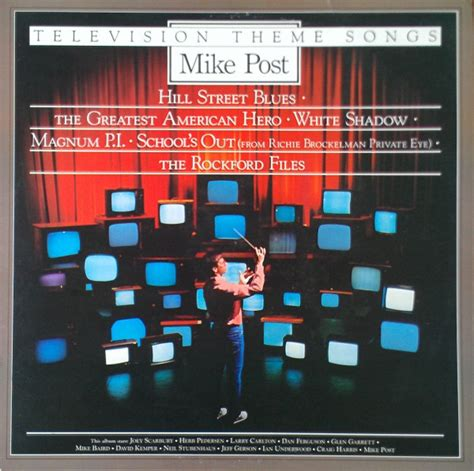 theme song vinyl mike post television theme songs vinyl lp album at