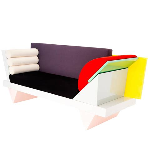 memphis couch big sur sofa by peter shire memphis group at 1stdibs