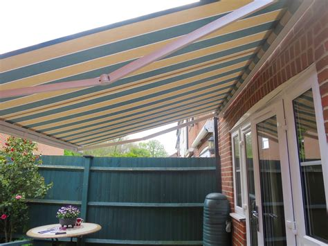 patio awnings uk electric patio awning fitted in romsey awningsouth