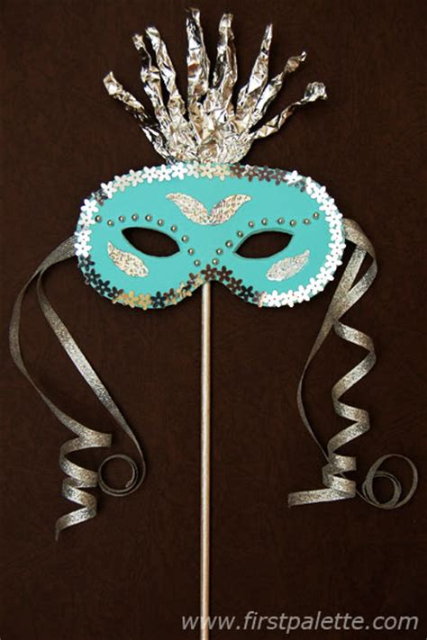 How To Decorate A Mask by Masquerade Mask Craft Crafts Firstpalette