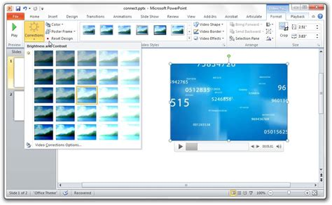 powerpoint design edit edit videos with powerpoint 2010