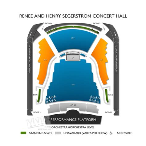 seating chart segerstrom concert renee and henry segerstrom concert tickets renee
