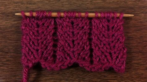 knit chevron pattern the chevron lace stitch knitting stitch 53