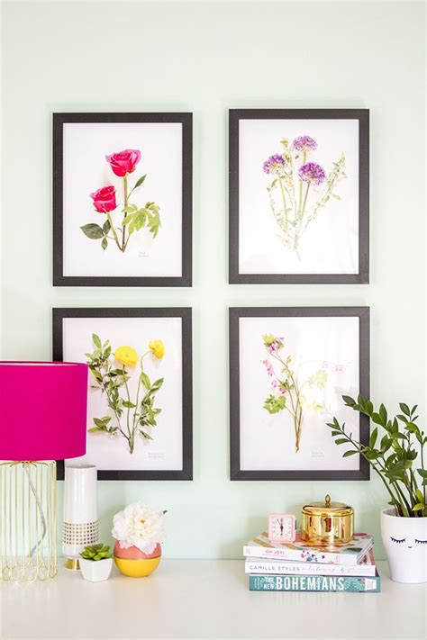 printable art diy 10 free wall art printables the crafted life