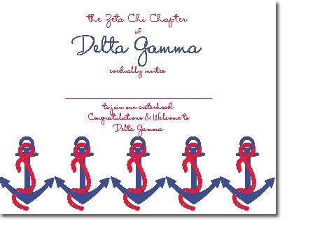 bid day card sorority recruitment template 17 best images about sorority on chi