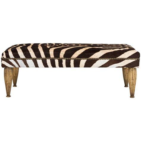 zebra storage bench zebra benches 28 images zebra bench at 1stdibs zebra