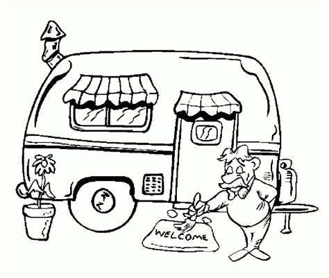 preschool vacation coloring pages get this cing coloring pages free printable 51582